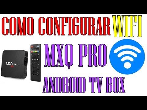 Cómo establecer WIFI en el  MXQ PRO Android Tv BOX