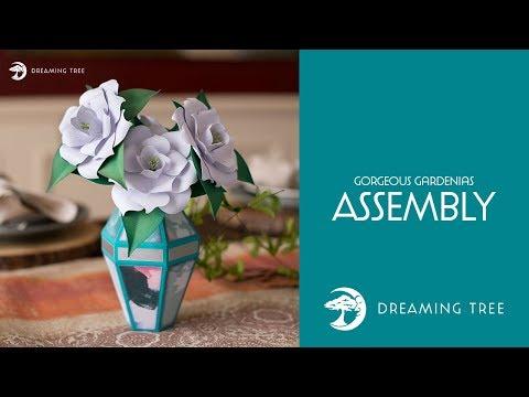 SVG File - Gorgeous Gardenias - Assembly Tutorial