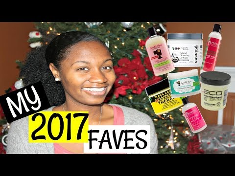 MY 2017 FAVORITE NATURAL HAIR PRODUCTS | EiffelCurls