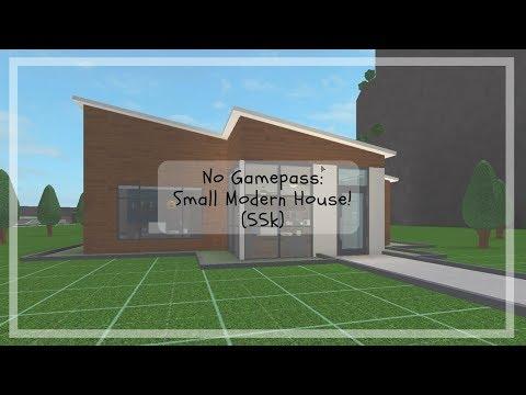 Roblox | Bloxburg | No Gamepass: Small Modern House (55k)