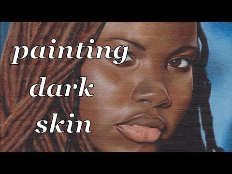 HOW TO PAINT DARKSKIN & LOCKS 1