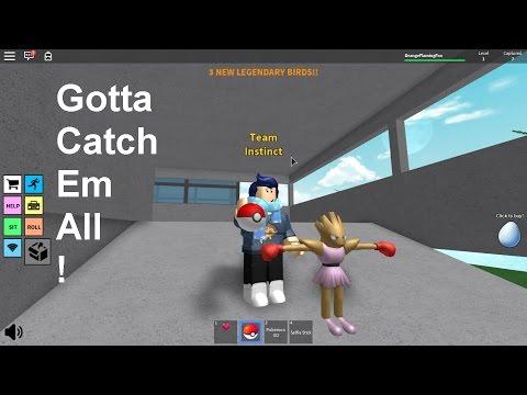 Roblox: Pokemon Go- Gotta catch em all!