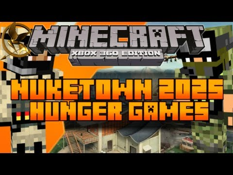 Minecraft (Xbox 360) The Hunger Games Map: Nuketown 2025 [Download In Description]