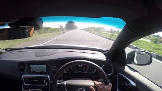 High speed car driving in INDIAN ROADS 219 km (unedited video)