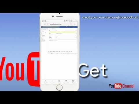 How to create Facebook Username [ customise  facebook  profile url ]