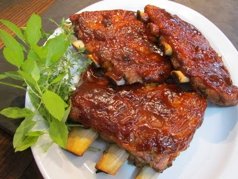 Slow Roasted St. Louis Spare Ribs