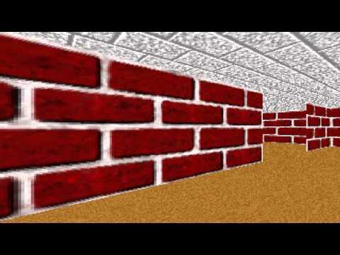 3D Maze Old Screensaver on Windows Vista, 7, 8 & 10 (Download Link Below)