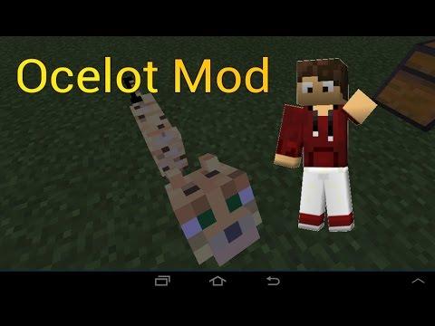 Minecraft PE [0.11.1] Mods : Ocelot Mod!