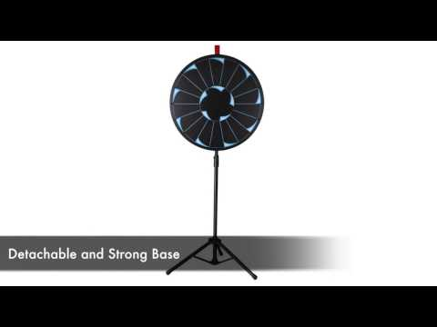 WinSpin™ - Spinning Prize Wheel with Adjustable Tripod Stand