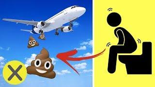 ¿A dónde van los desechos de los aviones? 💩 (PyR)