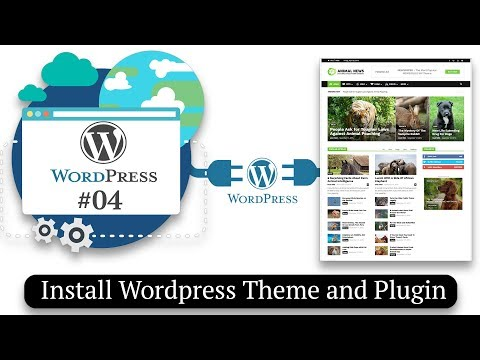 3 Way to Install Wordpress Theme and Plugin | How to Make a Website #04
