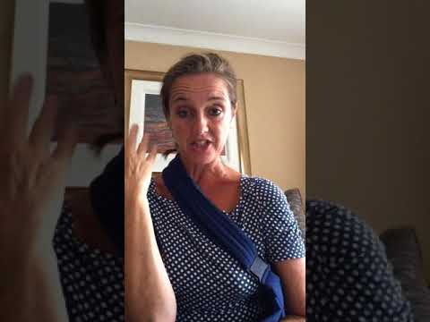 Broken collar bone recovery chat 2017 part 1 Pippa