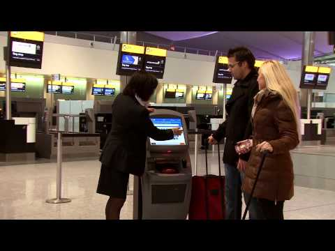 United - London Heathrow T2 Check in