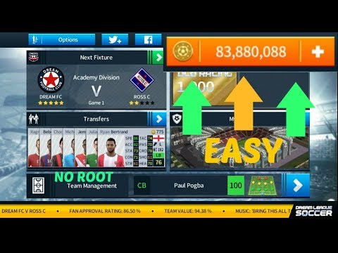 How to Get UNLIMITED COINS In Dream League Soccer 2018 l NO ROOT l iOS & Android