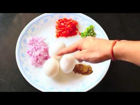 Indian Stuffed MASALA Omelette - Egg recipes Indian style - BeerBiceps HEALTHY Breakfast Recipes