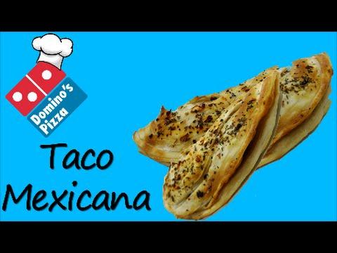 Make Taco Mexicana like Domino's at home !!