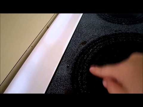 Ceramic stove top cleaning tip