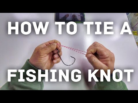 Bass Fishing for Beginners - The First Knots You Need to Know - How to Fish
