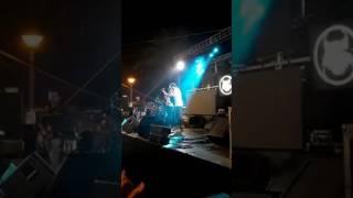 M. Carrasco en las fiestas de Punta del Caimán / Emilio J. López