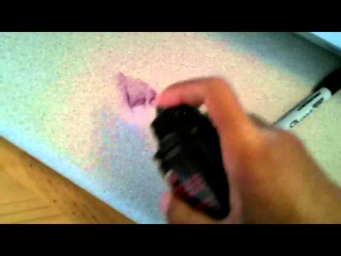 Remove Permanent Marker from Counter