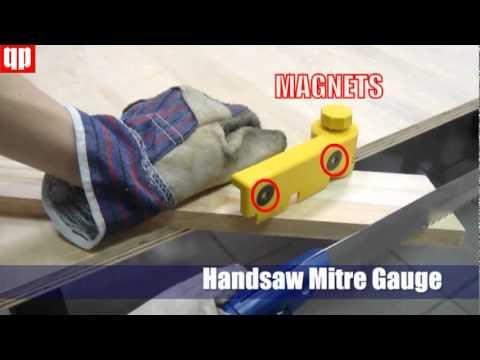 Handsaw Mitre Gauge