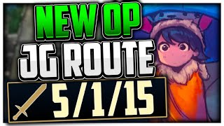 THIS NEW NUNU JUNGLE ROUTE IS ACTUALLY OP! (100% FREE WINS) Crushing 85% WR Karthus Main HIGH ELO!