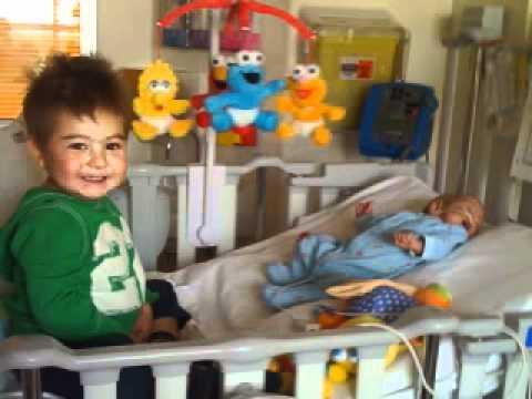 A baby born with Group B Strep infecion, Christian's journey.