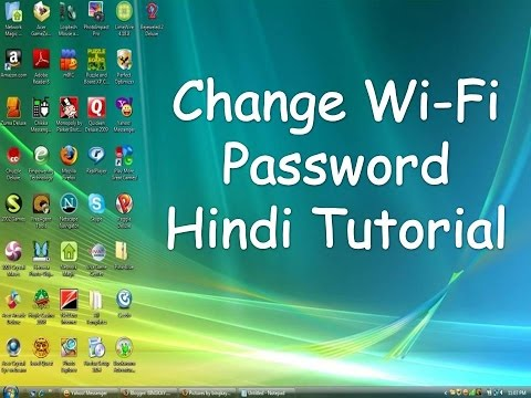 (Hindi) How to Change WiFi Password?  Change WiFi Password Of Any Router