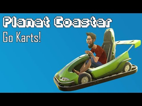 Planet Coaster: Building the Go-Kart Track!