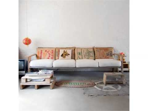 Pic Of Furniture Made By Using Pallet - Ideas | Pallets Furniture Sofa