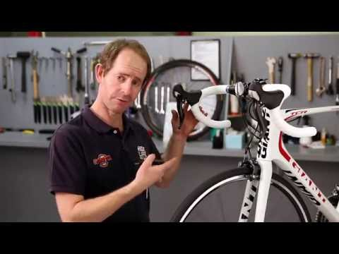 Removing A Road Bike Front Wheel