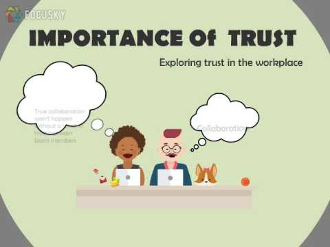 Building trust and confidence in the workplace