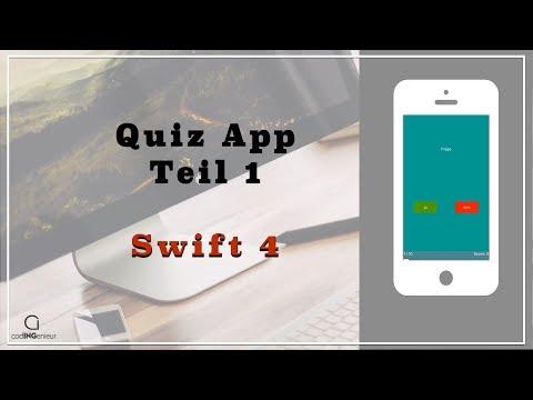 Swift Quiz App [1] - Layout erstellen