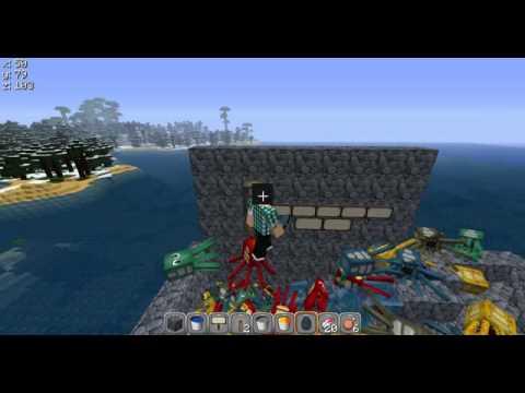 Minecraft Fun With squids Part 1