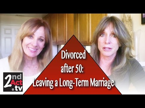 Divorce after 50: Can I leave a long-term Marriage?