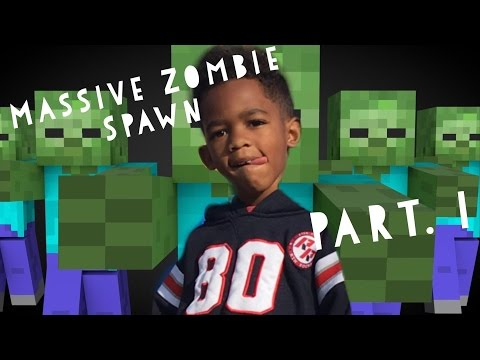 5 Year Old First Massive Zombie Spawn Egg Pt.1 iPhone/iPad - Minecraft