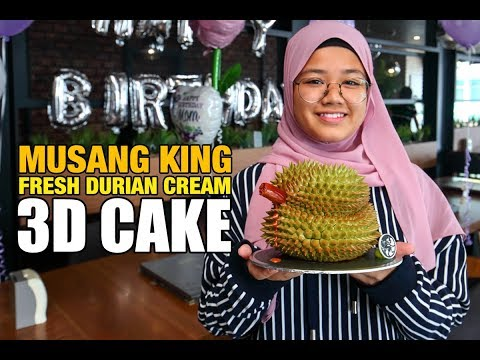 Durian Cake @ Moonlight Cake House