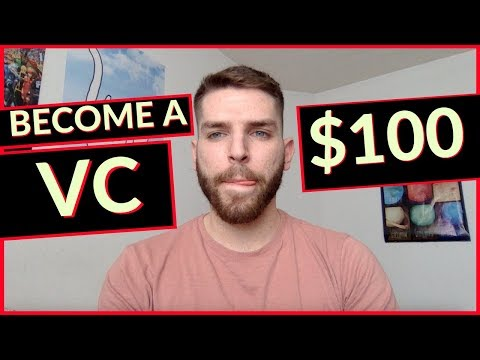 How To Become A Venture Capitalist For $100
