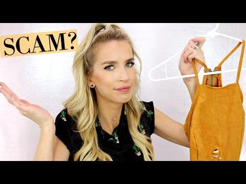 IS IT A SCAM? || ROMWE HAUL + TRY ON