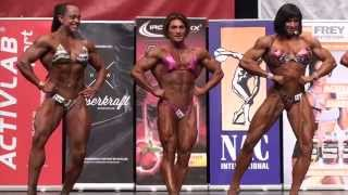 Ms. Physique at NAC Mr. Universe 2014 (top 6)