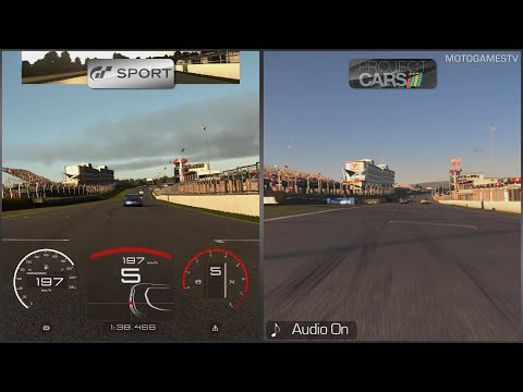 Gran Turismo Sport vs Project CARS - Early Comparison