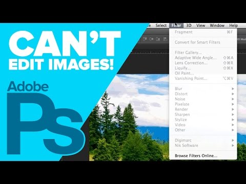 Can't Edit Image in Photoshop - Indexed Color Image  