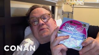 Andy Wants You To Give Shrimp Ramen A Chance - CONAN on TBS