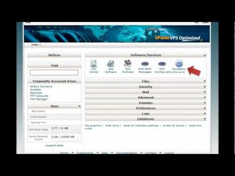 How to install PHPauction in HostGator cPanel Fantastico - HostGator Tutorial