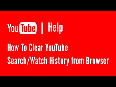 How To Clear YouTube Search/Watch History from Browser | Youtube Help