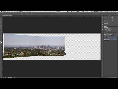 Creating a Panorama in Photoshop CS6