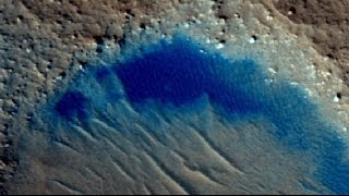 New Lake Found on Mars