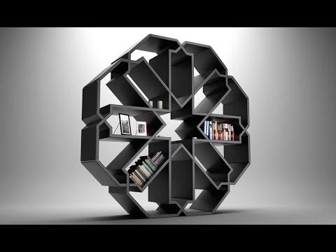 35 Unique and Creative Bookshelves Design Ideas - Room Ideas