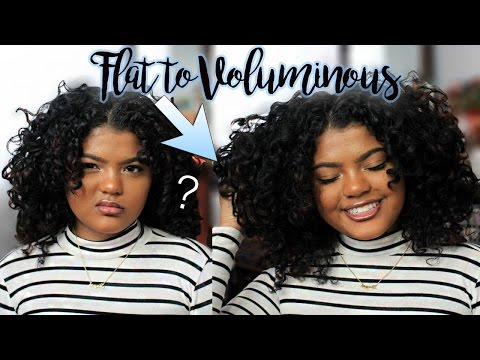 How I Get Voluminous Big Curly Hair