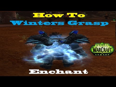 How to Obtain Winters Grasp Weapon Mog Enchant - Winter Veil Guide